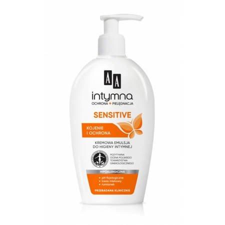 AA Intymna Ochrona Sensitive emulsja do higieny