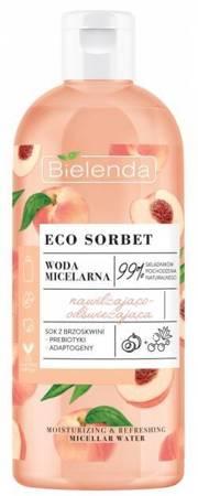 Bielenda Eco Sorbet Woda micelarna Serum nawilżająco-odżywczy 500ml