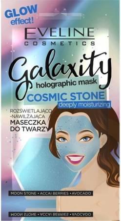Eveline Galaxity Maseczka do twarzy rozświetlająco-nawilżająca  Cosmic Stone 10g