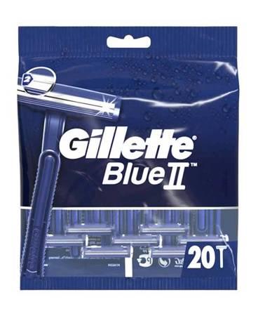 Gillette Blue II Maszynki do golenia 20 szt.